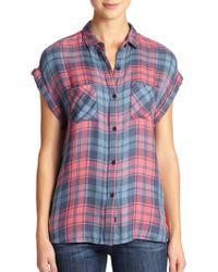 Rails Britt Plaid Shirt - Lyst