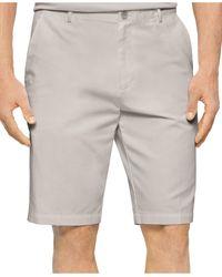 Calvin Klein Chino Walking Shorts gray - Lyst