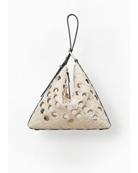 3.1 Phillip Lim Quill Triangle Bag - Lyst