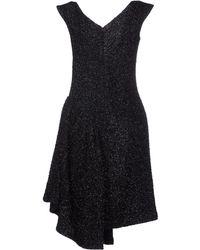 Simone Rocha Tinseltweed Dress - Black