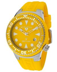 Swiss Legend - Neptune 44 Mm Yellow Dial Yellow Silicone Sl07 Watch - Lyst
