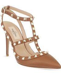 Valentino Rockstud 100 Heeled Sandals - For Women - Lyst