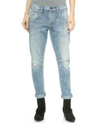 Citizens Of Humanity Emerson Slim Boyfriend Jeans - Sebring - Lyst