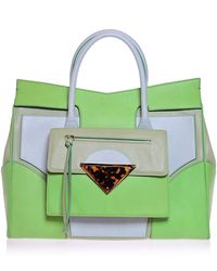 Sara Battaglia Ever Green Large Linda Bag - Lyst