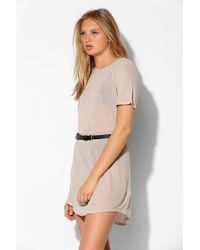 Truly Madly Deeply Crew-Neck Tunic Tee - Lyst