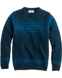J.Crew Harley Of Scotland Noreasterly Sweater - Lyst