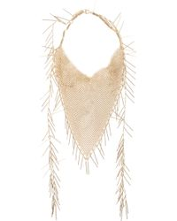 Isabel Marant Linares Long Necklace - Lyst