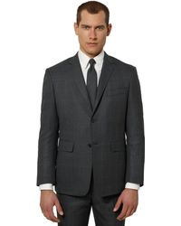 Brooks Brothers Black Fleece Plaid Classic Suit - Lyst