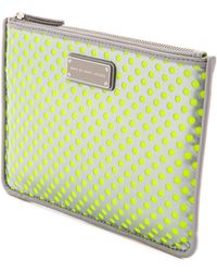 Marc By Marc Jacobs Techno Mesh Mini Tablet Pouch  - Lyst