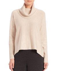 Eileen Fisher | Turtleneck Boxy Sweater | Lyst