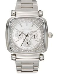 Saks Fifth Avenue - Square Stainless Steel Bracelet Watch - Lyst