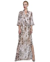 Julian Chang Concord Dress - Lyst