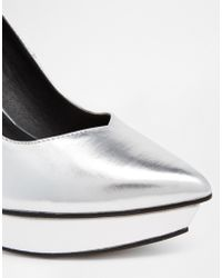 Asos Ps I Love You Pointed Platforms - Lyst