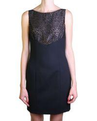 Saint Laurent | Black Dress | Lyst