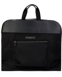 Want Les Essentiels De La Vie Stansted Foldable Canvas Garment Bag - Black