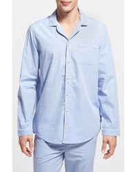 CALVIN KLEIN 205W39NYC - Chambray Pajama Shirt - Lyst