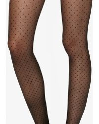 Fogal - Dotted Pattern Tights - Lyst