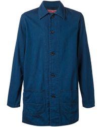 FDMTL Straight Denim Jacket - Blue