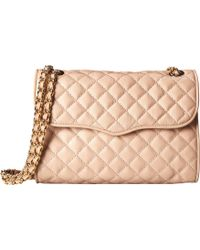 Rebecca Minkoff Pink Quilted Affair - Lyst