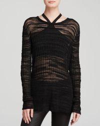 Helmut Lang Sweater - Erroded Threads - Lyst