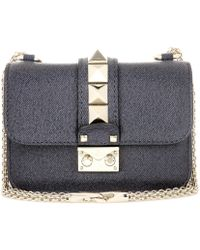 Valentino | Lock Mini Leather Shoulder Bag | Lyst