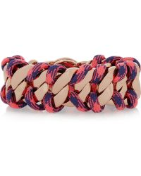 Marc By Marc Jacobs Corded Katie Rose Gold-Tone Bracelet - Lyst