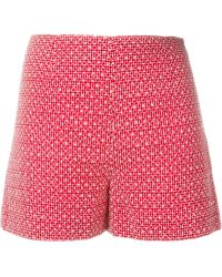 Vanessa Bruno Athé - Vanessa Bruno Athé Embroidered Shorts - Lyst