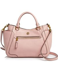 Tory Burch Satchel - Frances Small - Lyst
