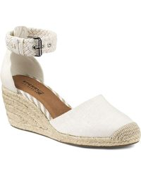 Sperry Top-Sider Espadrille Wedge Sandals - Valencia Closed Toe - Lyst