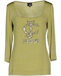 Just Cavalli T-Shirt green - Lyst
