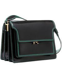 Marni   Trunk Bag In Shiny Calfskin   Lyst