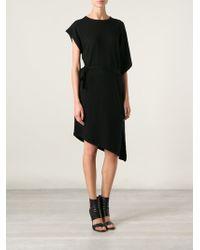 Unconditional Black Asymmetric Dress - Lyst