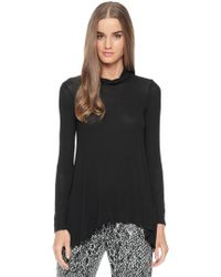 Ella Moss Icon Mockneck Top - Lyst