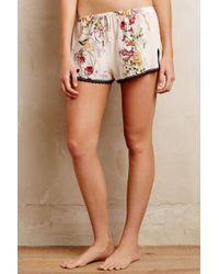 Eloise Meadow Lace Shorts - Lyst