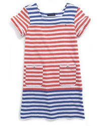 Tommy Hilfiger Stripe Knit Dress - Lyst