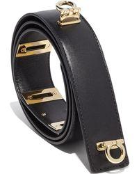 Ferragamo Double Gancino Lock Belt - Lyst