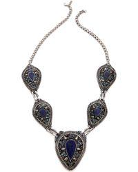 Vanessa Mooney The Izusa Necklace - Lapis Multi - Lyst