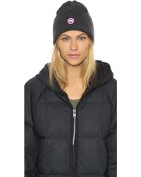 0889a526be9 canada goose merino wool beanie graphite