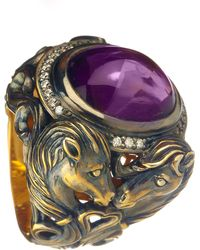 Queensbee - Horse Year Ring - Lyst
