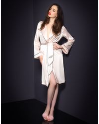 Agent Provocateur Classic Dressing Gown - Lyst