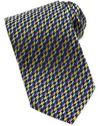 Missoni Geometric Pattern Silk Tie - Lyst