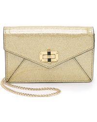 Diane von Furstenberg | 440 Gallery Bitsy Cross Body Bag - Gold | Lyst