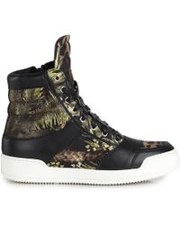 Balmain Jungle Canvas Sneaker - Lyst