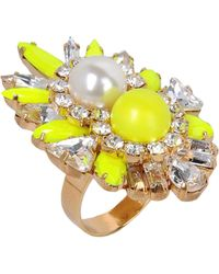 Shourouk Ring - Lyst