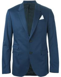 Neil Barrett Single Breasted Blazer - Lyst