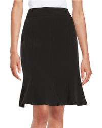 Nipon Boutique - Flared Crepe Skirt - Lyst