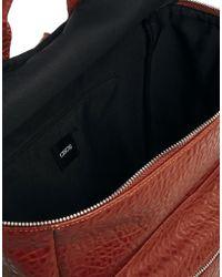 Asos Boxy Oversized Pebble Backpack - Lyst