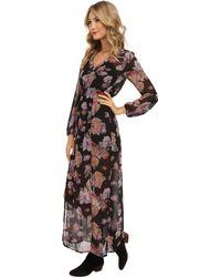 MINKPINK Light Floral Breeze Maxi Dress - Lyst