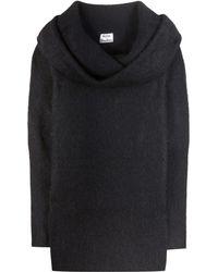 Acne Studios Daze Mohair And Wool-blend Sweatshirt - Black