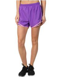 Nike Purple Tempo Short - Lyst